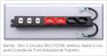 Barras Multicom 2 circuitos SCD