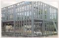 Estrutura metalica para fechamento