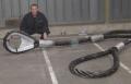 Laços de cabo de aço