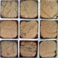 Mosaico de pastilhado de coco