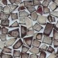Mosaico de Fragmentos de Coco