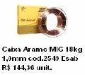 Caixa Arame MIG 18 kg