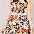 Vestido Colorido Ref. 8112