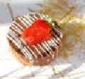 Tortelette de Morango com Ganhache de Chocolate