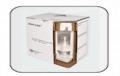 A embalagem homologada