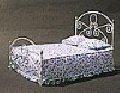 Única cama diminuta de Futura