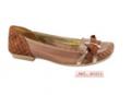 Sapatos femenino em pele