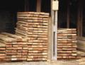 Tabuas tratadas para construcao civil