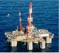 Exploração de petróleo em termos de áreas marítima
