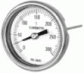 Termometro Bimetalico Aço Inox