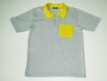 Camiseta Polo Com Bolso