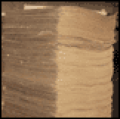 Celulose fibra longa não branqueada.