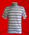 Camisa Listrada Gola Canoa