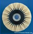Escovas cilíndricas para diversas aplicações têxteis