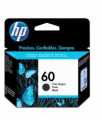 Cartucho HP 60 CC640WB preto 4ml