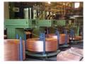 Fios retangulares -  Fornecido em carretéis de fibra, com largura entre 4,00 e 16,00 mm e espessura de 0,70 a 6,00 mm.