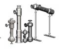 Os filtros separadores centrífugos removem os sólidos com alta eficiência .