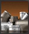 Conexões tupy - вo tipo ferro maleável galvanizado, preto bsp-npt 150lbs/300lbs .