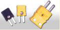 Conectores - acessórios para uso em sensores de temperatura.