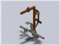 Manipulador de eixos - Giro de 360 graus para esquerda ou direita .