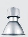 Tech - Iluminaзгo Industrial - Corpo em chapa de aço galvanizado, pintado eletrostaticamente em poliéster na cor preta.