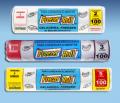 Freezer-Rollé um saco para alimentos que pode ser usado em freezer, geladeira e microondas.