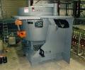 Fornos de Indução Heavy Steel Shell coreless destinados a aplicações de fusões de médios e grandes volumes de metal.