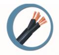 Cabelflex controle  -  utilizados em instalações de circuitos de comando, controle e sinalização de equipamentos elétricos.