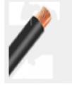 Cabo BWF 750 V - podem ser instalados em calhas, dentro de eletrodutos ou sobre isoladores.