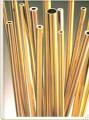 Barras ocas de cobre e latão -  tubos condutores de energia que necessitam de refrigeração.