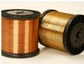 Fios de cobre - sao para condutores em geral, coletores, rebites, transformadores, bobinas, componentes eletrônicos e perfis de contato.