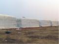 Lona para silagem - indicada para cobertura de silo forrageiro possui alta resistência ao envelhecimento.