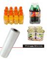 Filme Shrink (Termocontrátil) Epema é produzido através da mistura de resinas especiais de polietileno de baixa densidade (PEBD) e polietileno Linear (PEBDL).