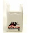 Alça Camiseta - a Trevo Embalagens produz as sacolas plásticas de alça camiseta seguindo às normas técnicas da ABNT..