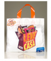 Alça flexível - as sacolas Alça Flexível ou mais conhecidas como Alça Fita, fazem parte da linha de sacolas plásticas especiais.