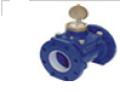 Medidor de Irrigação - Modelo IRT- Design especial, com livre passagem de água, permite medidas de água com grande conteúdo de impurezas.