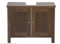 Balcão para pia de banheiro baden - móveis fabricados em madeira maciça de reflorestamento (Pinus), com partes em MDF.