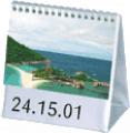 Calendário de Mesa Modelo Comercial