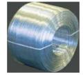 Arames -  o alumínio apresenta resistência à corrosão .
