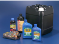 Embalagens automotivas - embalagens totalmente protegidas contra vazamentos no bocal e exposição à luz, garantindo que o produto final tenha suas propriedades preservadas.