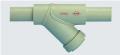 Filtro tipo Y  modelo F-1000   -  por ser construído de material termoplástico, o polipropileno, além de ser atóxico, apresenta excelente desempenho com fluídos corrosivos.