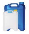 Embalagens para o envase de produtos químicos e agro-químicos.
