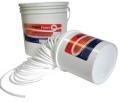 Cordões de vedação - os cordões de vedação Plastifluor, são perfis de seção circular constituídos 100 por PTFE não-expandido.