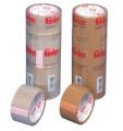 Fitas empacotamento - filme de polipropileno, com adesivo acrílico à base de água.