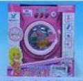 Maquininha de lavar roupas com música e luzes