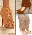 Детали обувные замшевые