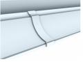 União para Acabamento Nobre em PVC facilita a instalação e assegura um acabamento impecável e esteticamente superior