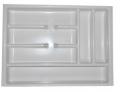 Modelos para distribuir e organizar os variados itens guardados em gavetas.