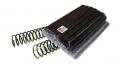 Espirais PVC - fabricados em PVC de Alto-brilho tornando-os visualmente bonitos e resistentes.