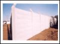 Muros de cimento